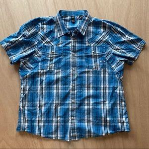 Oakley shirt button up slim XXL